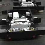 Assemblage van elektro-hydraulische wisselstellers
