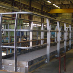 Industriële trappen en bordessen
