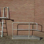 Aluminium trap en hek